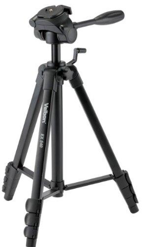 Velbon 三脚 レバー式 EX-540 4段 中型 3Way雲台付 DIN規格クイックシュー対応 アルミ製 301369