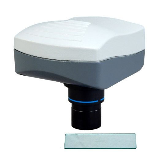 Omax 5.0Mp Microscope Digital Usb Camera With Advanced Software With 0.1Mm Calibration Slide
