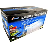 Finnex External Refugium/Breeder Hang-On Box/Air Pump and Air Tubes, 1-Gallon