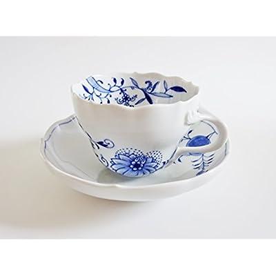 マイセン(Meissen) ブルーオニオン スタイル 801001-582 コーヒーカップ&ソーサー 【並行輸入品】