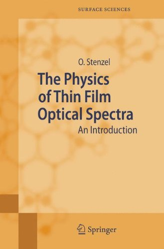 Mon premier blog the physics of thin film optical spectra an introduction springer series in surface sciences fandeluxe Gallery