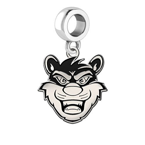 Cincinnati Bearcats Antique Silver Dangle Charm
