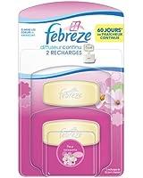 Febreze - Recharge pour Diffuseur Continu Fleur Naissante x 2