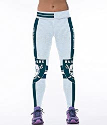 iSweven Armor 3D rugby Design Printed Polyester Multicolor Yoga pant Tight legging for womens girls