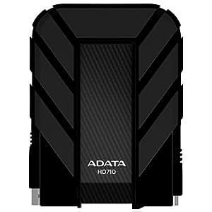 ADATA DashDrive 1TB HD710 Military-Spec USB 3.0 External Hard Drive AHD710-1TU3-CBK (Black)