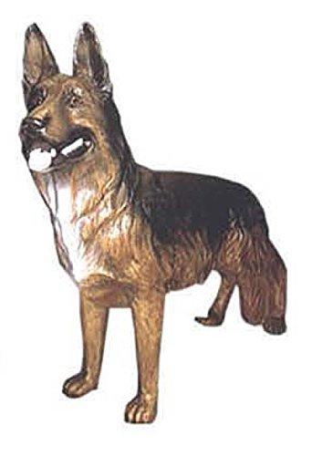 Lebensgroße Figuren Shop Schäferhund steht, Lebensgross - Tierfiguren - HU069
