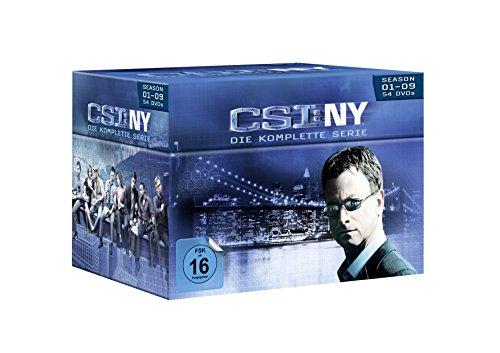 CSI: NY - Season 1-9/Komplettbox [54 DVDs]