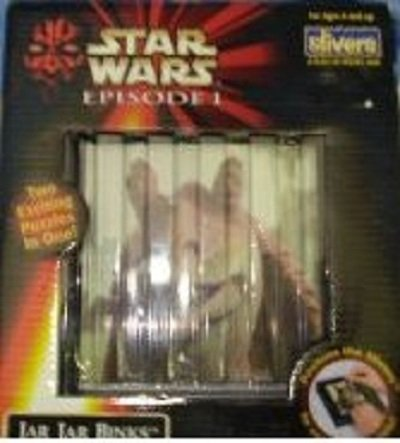 Star Wars Episode 1,jar Jar Binks Two Puzzles in One - 1