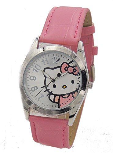Hello-Kitty-Womens-HK1741-Analogue-Pink-Strap-Watch