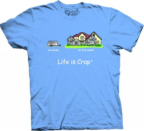 Life is Crap - My House-M (Men Camper Life Is Good compare prices)