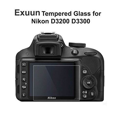 Nikon D3200 D3300 LCD Tempered Glass Screen Protector,