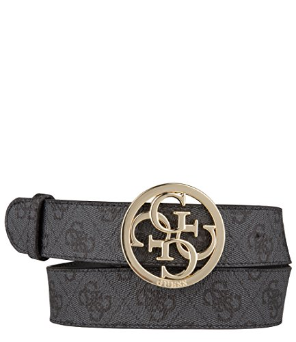 Cintura guess donna logata, con fibbia dorata