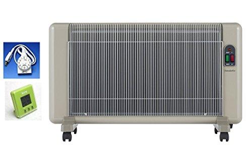 遠赤外線パネルヒーター・新型 「夢暖望880型H」+コードタイマー付セット