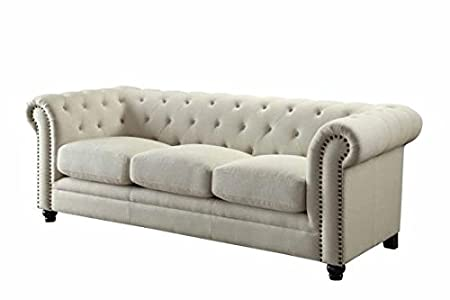 Coaster 504554 Home Furnishings Sofa, Oatmeal