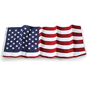 Allied Flag Outdoor Embroidered Polyester U.S. Flag, 6-Foot by 10-Foot at Sears.com