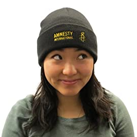 Amnesty International Embroidered Beanie Hat