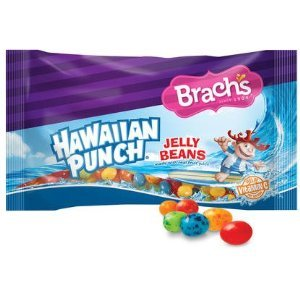 Brach's Hawaiian Punch Jelly Beans 14 Oz Bag Pack of 6