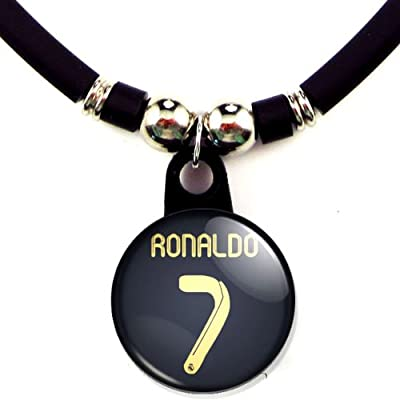 Cristiano Ronaldo FC Real Madrid Soccer Jersey Necklace