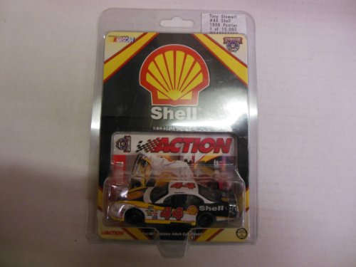 Tony Stewart #44 Shell 1998 Pontiac 1:64 Scale Stock Car Limited Edition Collectible by Action Nascar 50th Anniversary