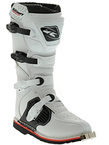 Kenny MX White 2015 Track MX Boot
