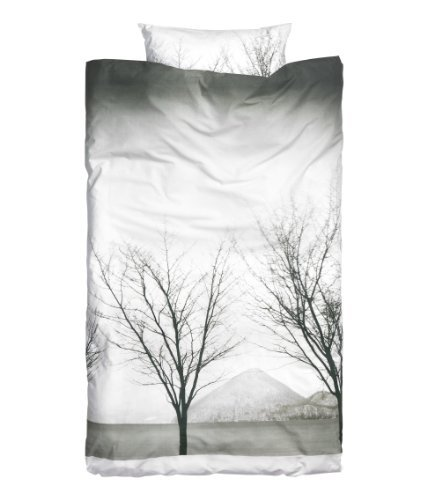 Trees Print Duvet Cover And Pillowcase 2Pc Set Twin Single Size 100% Cotton front-182534
