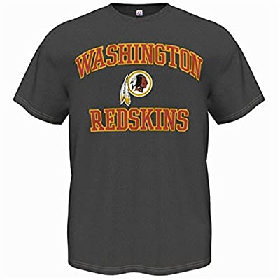 Majestic Men's Washington Redskins Heart & Soul Tee, Big and Tall Sizing