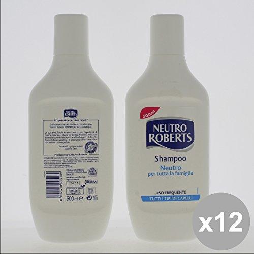 Set 12 NEUTRO Roberts Shampoo 500 Neutro - Capelli