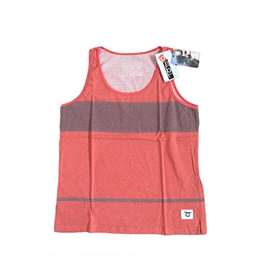 TOM CARUSO vest tank top Recife Beach Tennis Canotta Uomo Orange XL