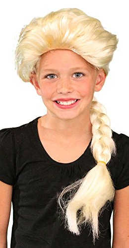 My Costume Wigs Queen Elsa Wig Inspired by Disney's Frozen One Size Fits All