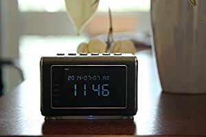 EagleCam: Top Selling Spy Camera Mini Clock Radio Hidden DVR; Infrared Night vision; Large-Print Manual