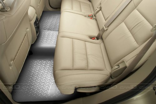 Husky Liners Custom Fit Second Seat Floor Liner For Select Toyota Land Cruiser/Lexus Lx450 Models (Grey) front-177794