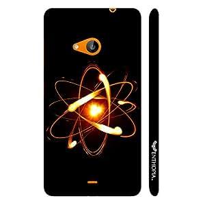 Nokia Lumia 535 Proton Nuetron Electron designer mobile hard shell case by Enthopia