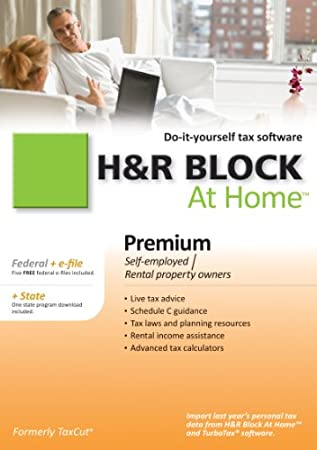 H&R Block At Home 2010 Premium Federal + State + eFile  [Download] [OLD VERSION]