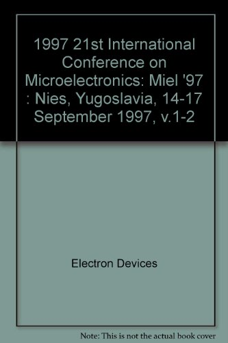 1997 21st International Conference on Microelectronics