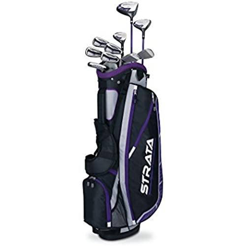 [해외] CALLAWAY WOMEN'S STRATA PLUS SET (14-PIECE, RIGHT HAND) [병행수입품]-