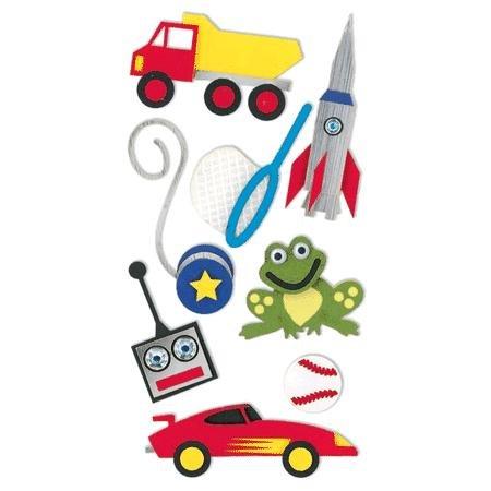 Sandylion Large Essentials Handmade Stickers little boy toys