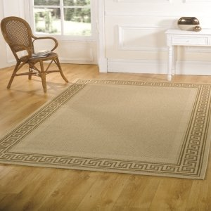 Florence Lorenzo Beige Contemporary Rug Rug Size: 290cm x 200cm (9 ft 6 in x 6 ft 6.5 in) from Flair Rugs