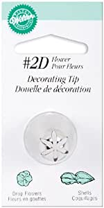 Wilton No.2D Decorating Tip, Drop Flower