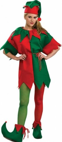 Costumes for all Occasions RU8494MD Elf Tights Womens Md