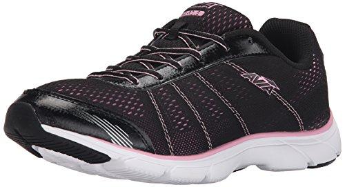 AVIA Women's Avi-Rove Walking Shoe, Black/Prism Pink, 7.5 M US (Avis Shoes compare prices)