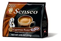 Senseo Espresso Coffee Pods, 16-Count, 3.92-Ounce Packages (Pack of 6)