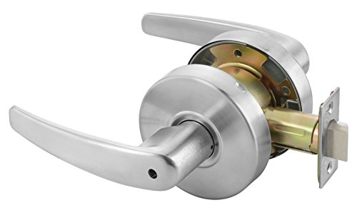 Yale MO4602 LKST 497 Door Lever Lockset, Cylinder Lockset, Privacy Lock (Commercial Privacy Lever compare prices)