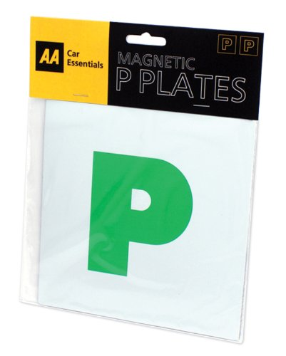 AA Car Essentials Fully Magnetic P Plates