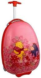 "Heys USA Disney Pooh Flower 18"" Kids LED Wheels Carry-On Pod-D234F"