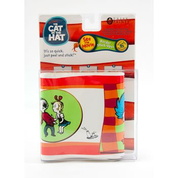 Dr. Seuss the Cat in the Hat Border Stick-ups Vinyl Wall Paper Border - 1