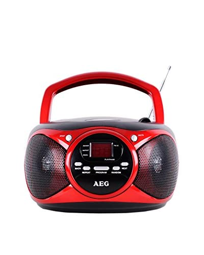 AEG Radio CD SR 4351 Rojo