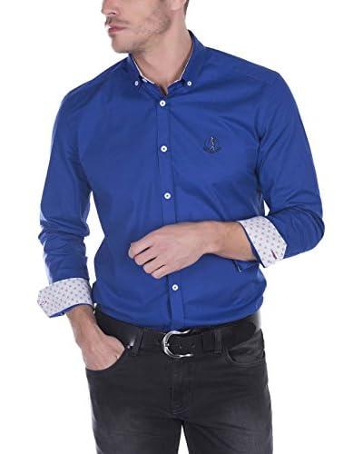 SIR RAYMOND TAILOR Camisa Hombre Bent Grass Azul