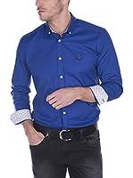 SIR RAYMOND TAILOR Camisa Hombre Bent Grass (Azul)