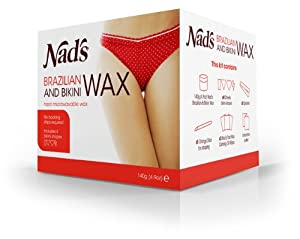 Nad's Brazilan & Bikini Wax Kit, 4.9-Ounces