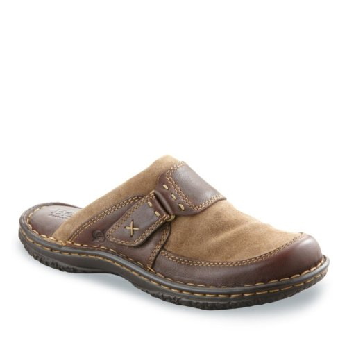 Born Women's Alain Clogs, BISON, 6 M/B